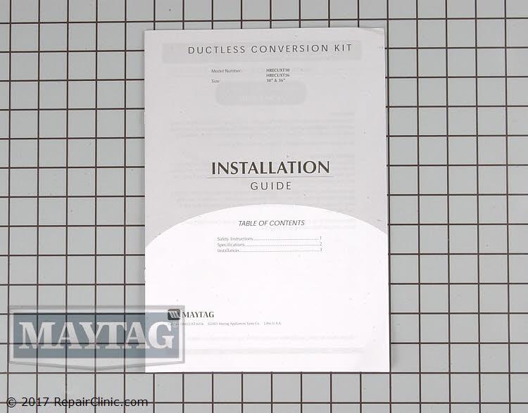 Recirculating Vent Kit 49001179 Alternate Product View