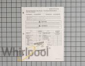 Tech Sheet - Part # 930965 Mfg Part # RT3210012
