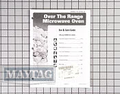 Manual, use & care - Part # 1130084 Mfg Part # 8112P263-60