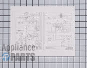 Wiring Diagram - Part # 493921 Mfg Part # 316002169