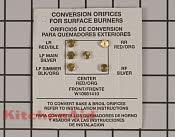 Conversion Kit - Part # 4454864 Mfg Part # W10909678