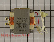 High Voltage Transformer - Part # 4441535 Mfg Part # WPW10170369