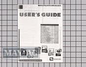 Manuals, Care Guides & Literature - Part # 516803 Mfg Part # 33001934