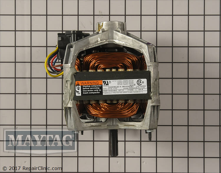 Drive Motor WPW10318887 Alternate Product View