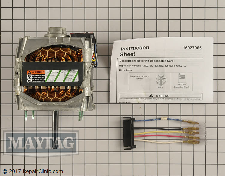 Drive Motor 12002352 Alternate Product View