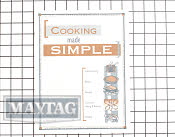 Cooking Guide - Part # 1008961 Mfg Part # 74007136