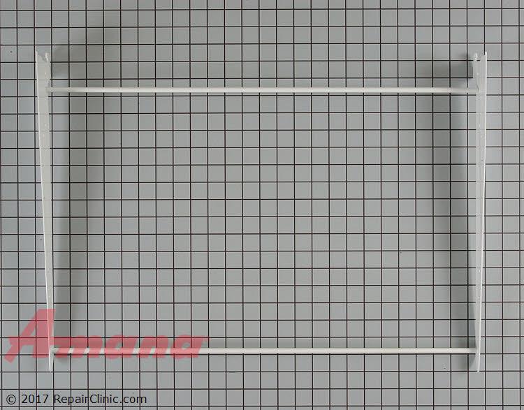 Shelf Frame without Glass W10840992 Alternate Product View