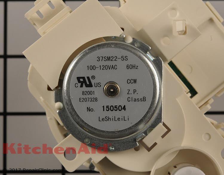 Diverter Motor W10843811 Kitchenaid Replacement Parts