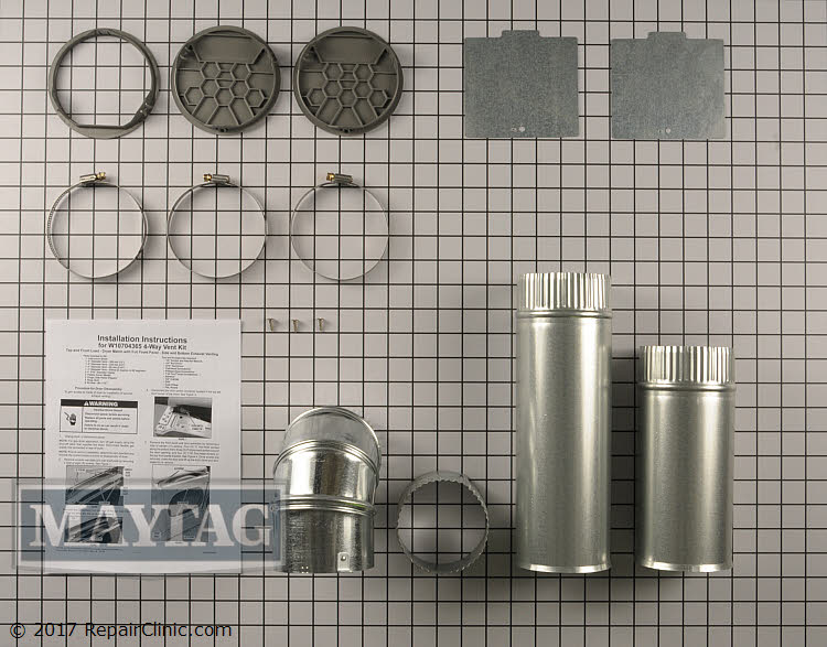 Side Venting Kit W10704365       Alternate Product View