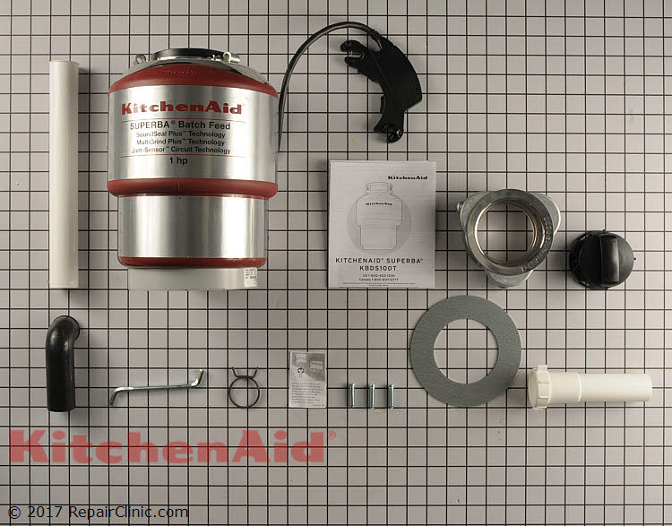 Garbage Disposer WPKBDS100TA Alternate Product View