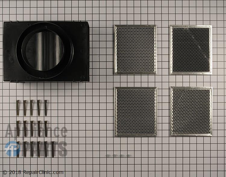 Recirculating Vent Kit W10692909 Alternate Product View