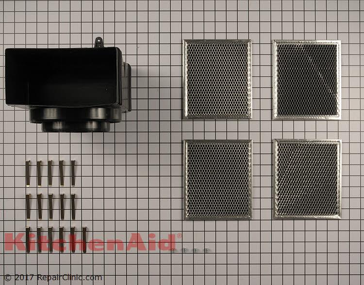 Recirculating Vent Kit W10692909 Kitchenaid Replacement