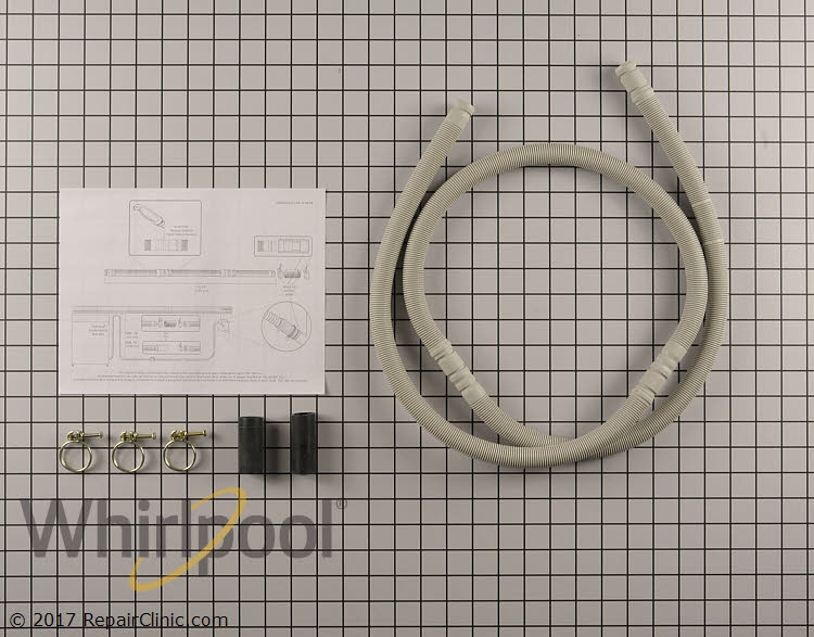 Drain Hose W10712310 Alternate Product View