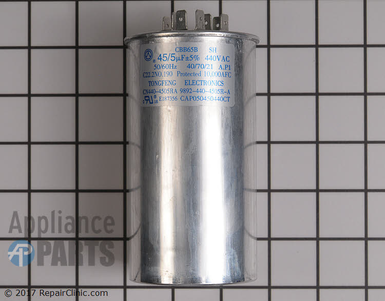 Dual Run Capacitor CAP050450440RTP Alternate Product View
