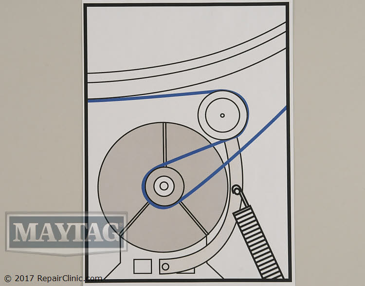 Drive Belt Wp40111201 Maytag Replacement Parts