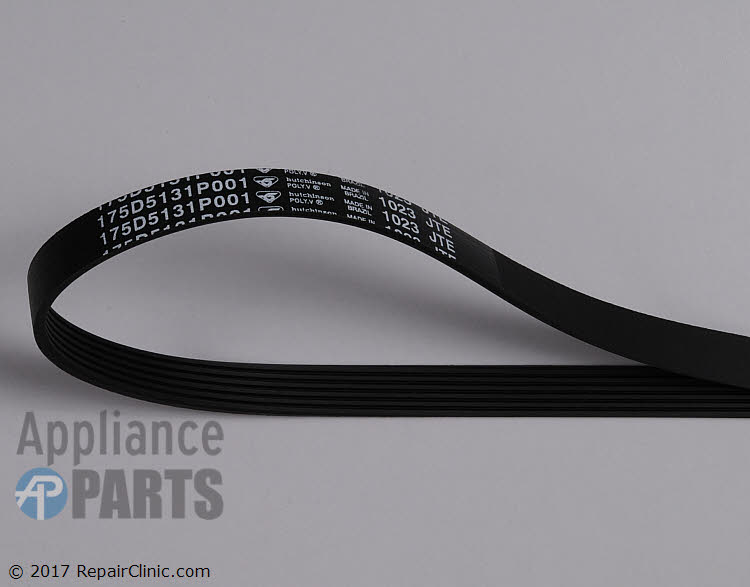 Drive Belt WH01X10302      Alternate Product View