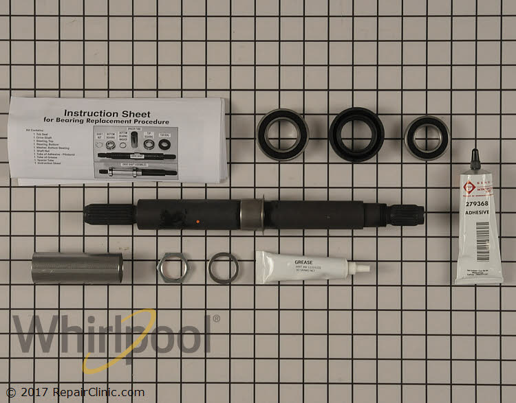 Tub Seal and Bearing Kit W10435302 Alternate Product View