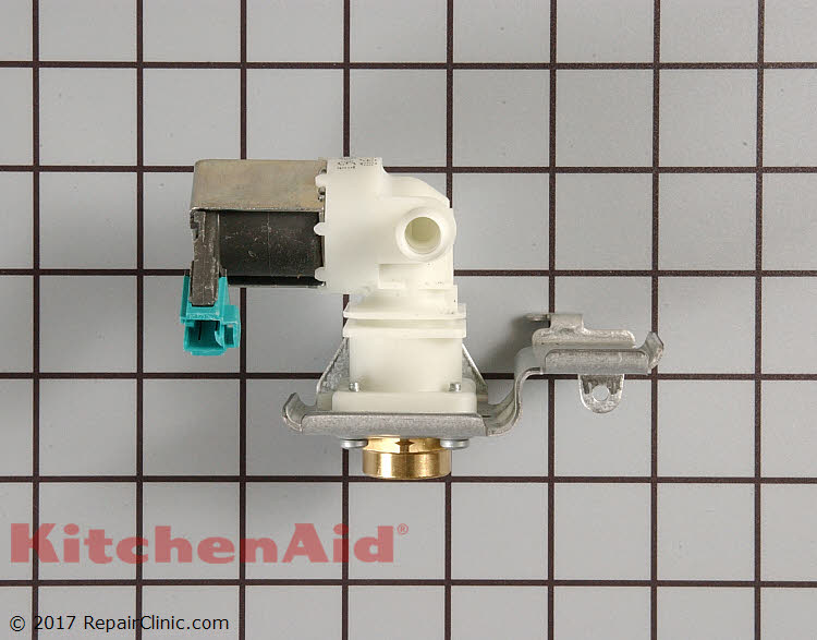 Water Inlet Valve Wpw10158389 Kitchenaid Replacement Parts