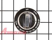 Thermostat Knob - Part # 1244192 Mfg Part # WPY07506601