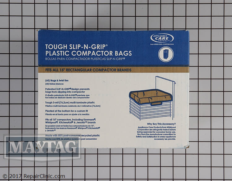 Trash Compactor Bags W10165294RB Alternate Product View
