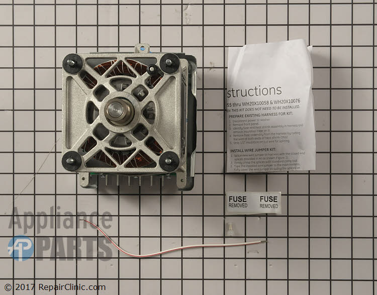 Drive Motor WH20X10058      Alternate Product View