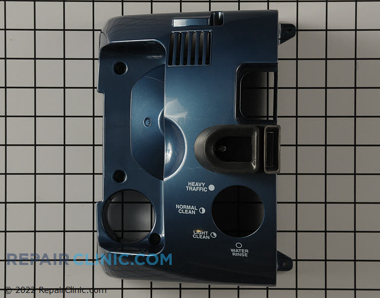 Blue Illusion Rear Cover With Knob Cutout
