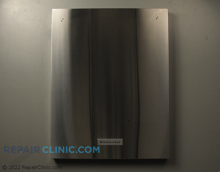 Stainless front panel