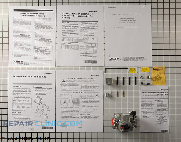 Gas Valve Assembly VR8200H1251 Alternate Product View