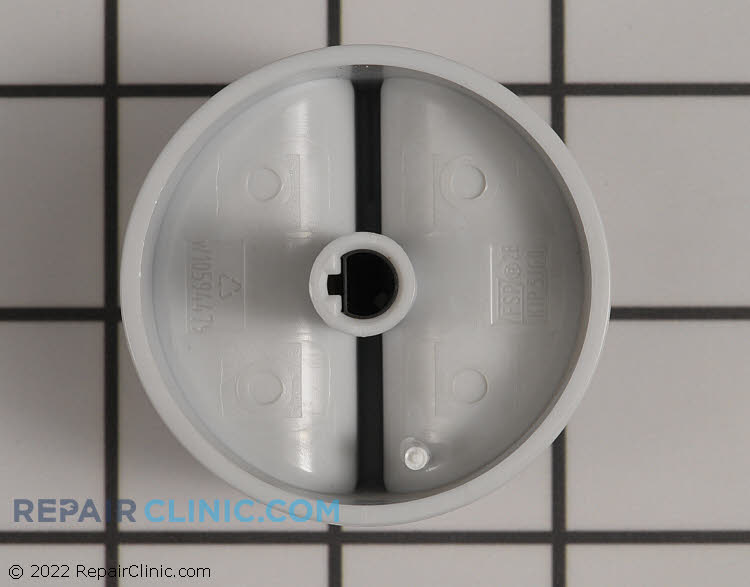 Clock Knob W10594480 Alternate Product View