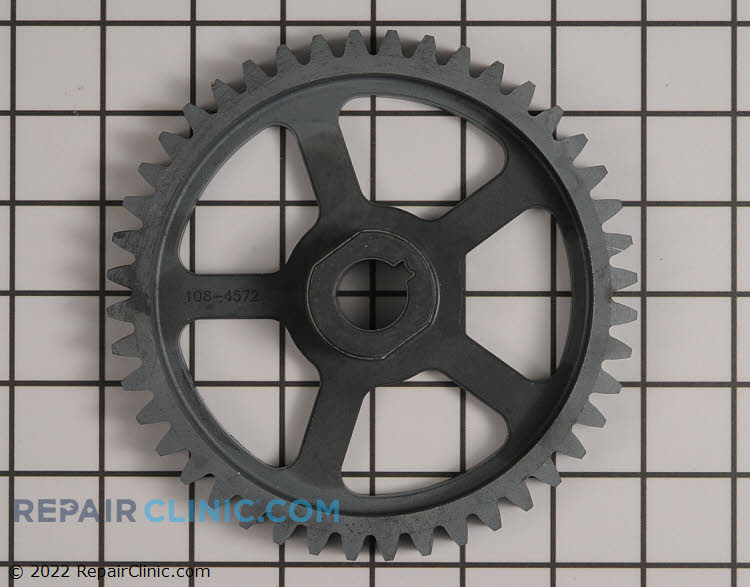 Gear-axle, 44 tooth