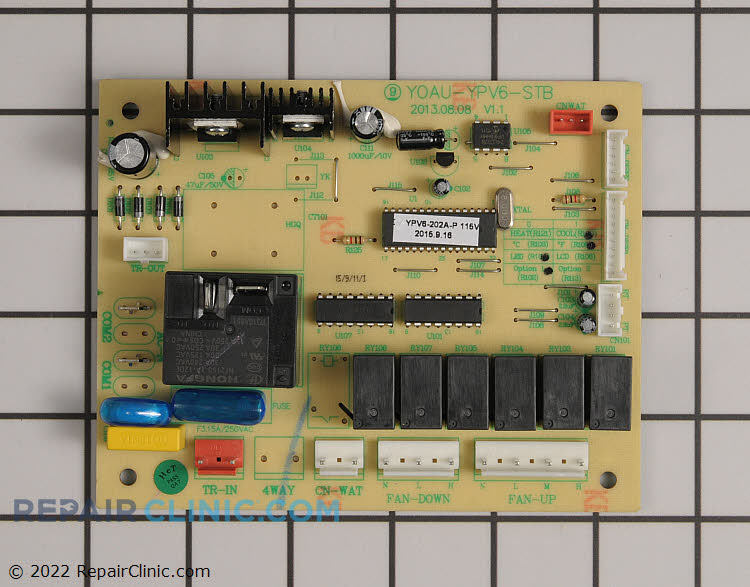 Control Board 2100-PV6D4CA Alternate Product View