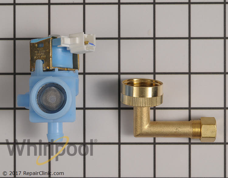 Water Inlet Valve W10648041 Whirlpool Replacement Parts