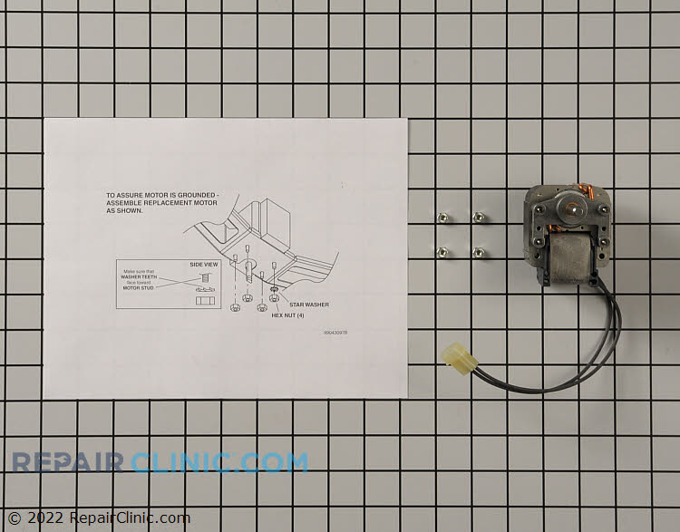 Blower Motor W10725392 Alternate Product View
