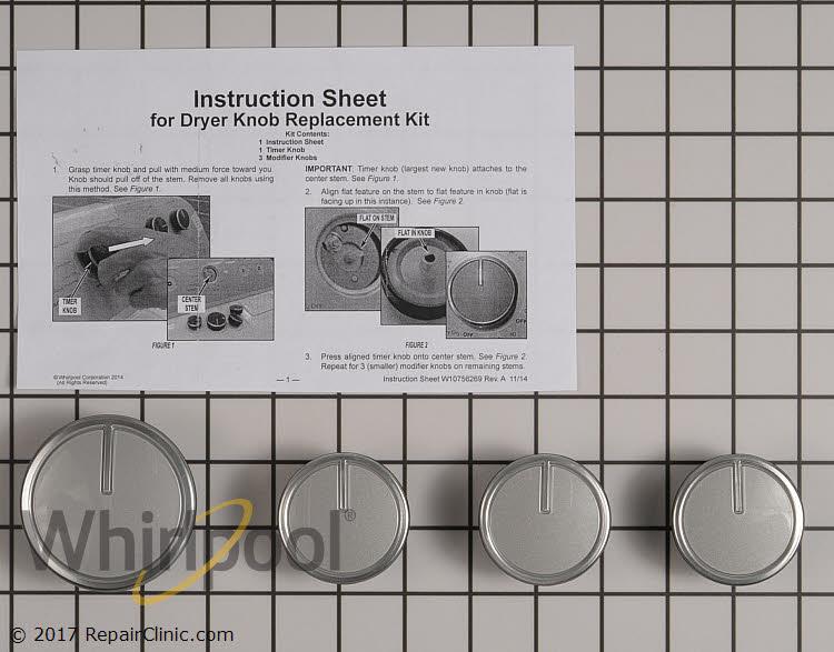 Timer Knob W10756270 Alternate Product View
