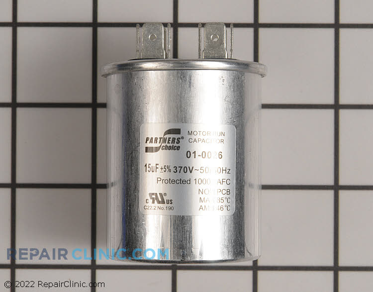 Run Capacitor 01-0026 Alternate Product View