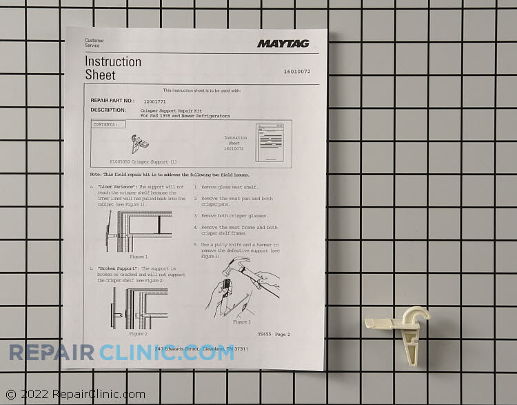 Shelf Support WP61005050 Alternate Product View