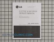 Repair Manual - Part # 1394911 Mfg Part # 3828EL3005Q