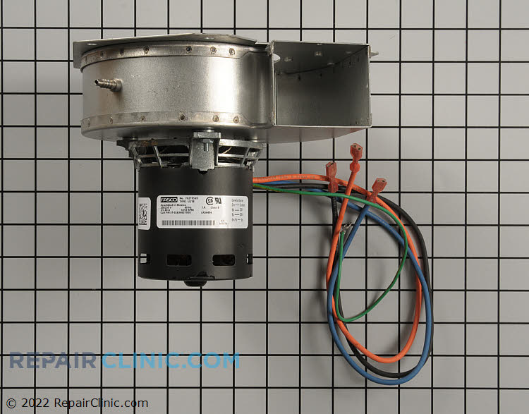 Draft inducer motor s1 02634637000 for Luxaire furnace draft inducer motor