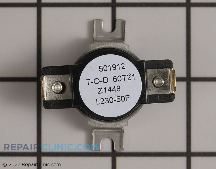 High Limit Thermostat W10908281 Alternate Product View