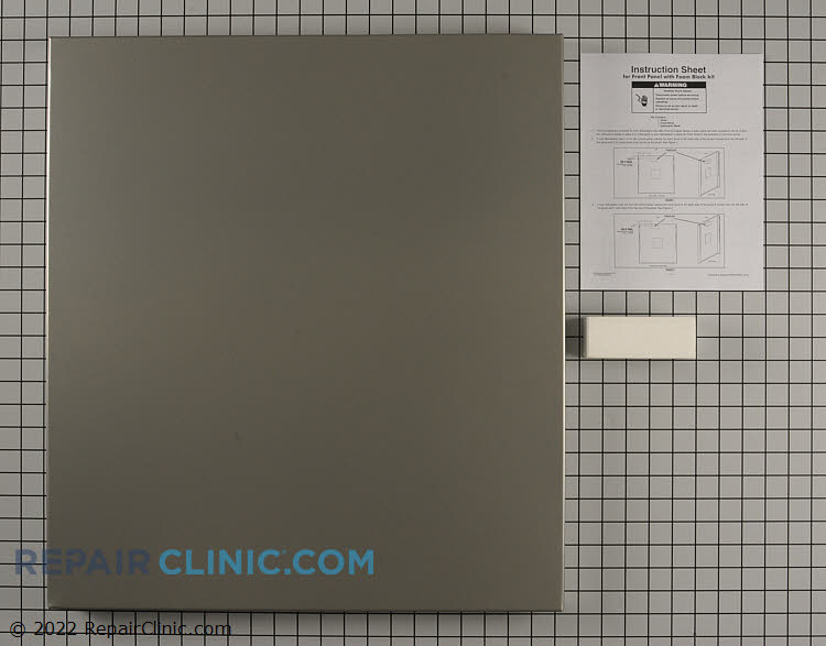 Outer Door Panel W10301575 Alternate Product View