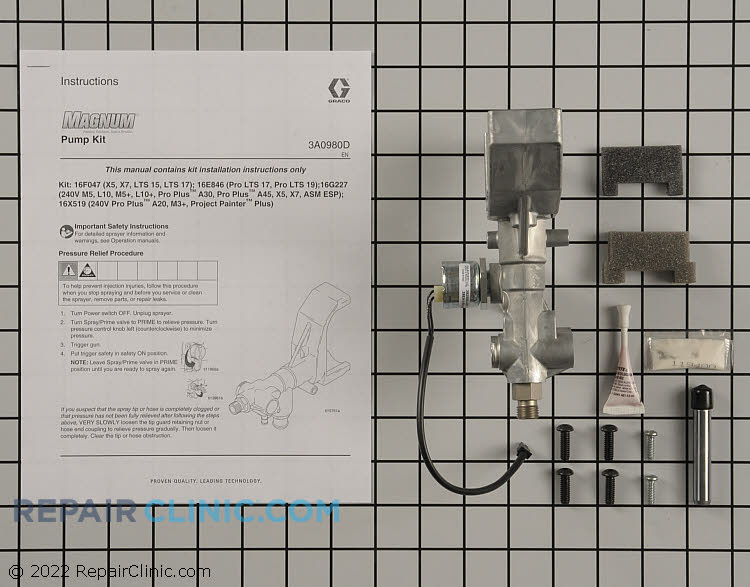 Pump 16F047 Alternate Product View