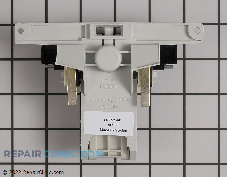 Door Latch W10862259 Alternate Product View