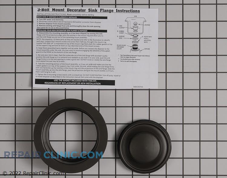 Deco sink flange-stoper oil rub brown