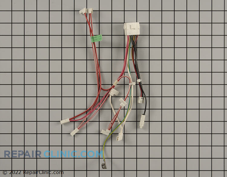 Wire Harness WPW10224292 04819582 ikea refrigerator wire harness fast shipping repairclinic com refrigerator wiring harness green wires at reclaimingppi.co
