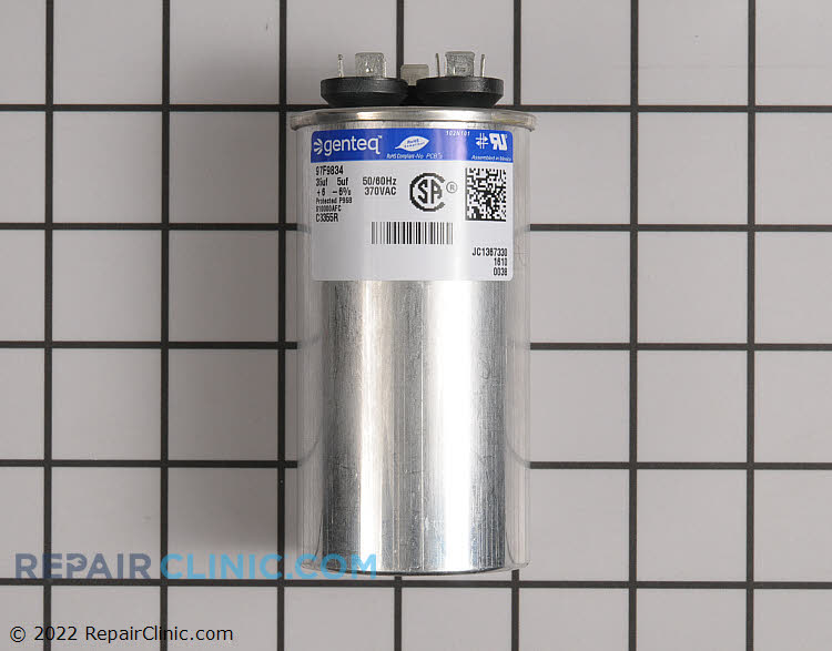 Dual Run Capacitor C3DR355 Alternate Product View