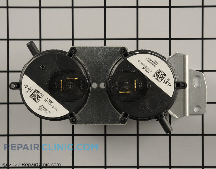 """Pressure switch, .95 & 4"""" WC"""
