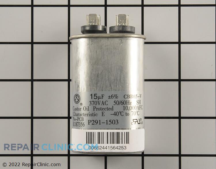Run capacitor, single oval 370V 15uF
