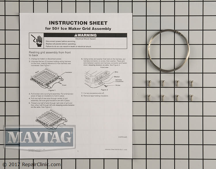 Cutting Grid Wire Kit 4387020 Alternate Product View