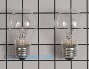 Light Bulb - Part # 1166082 Mfg Part # 40A15-2PK