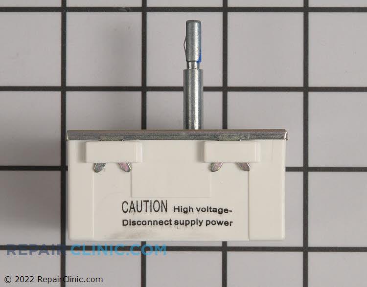 Gas stove knobs white